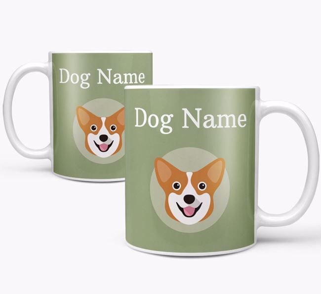 Personalised Pembroke Welsh Corgi Mug