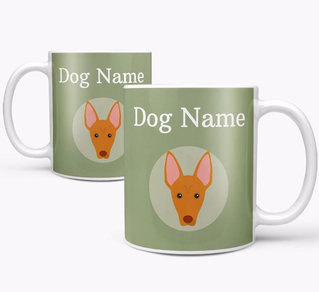 Personalised Pharaoh Hound Mug