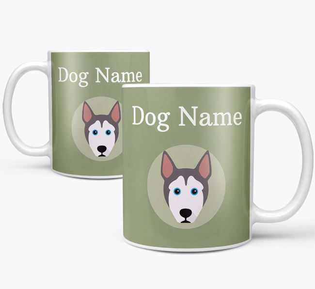 Personalised Pitsky Mug