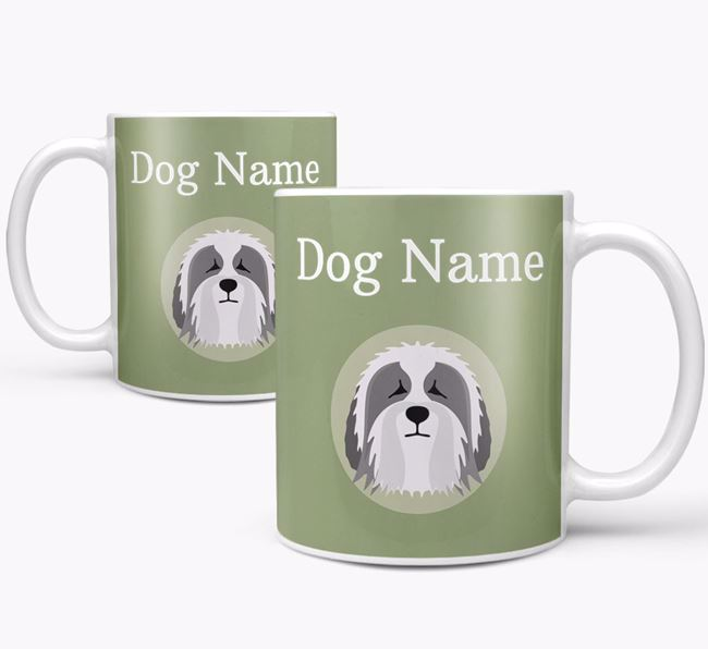 Personalised Polish Lowland Sheepdog Mug