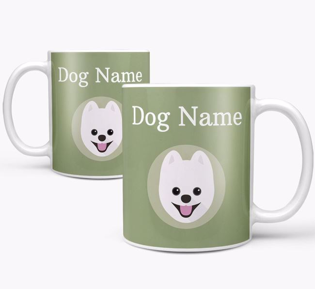 Personalised Pomsky Mug