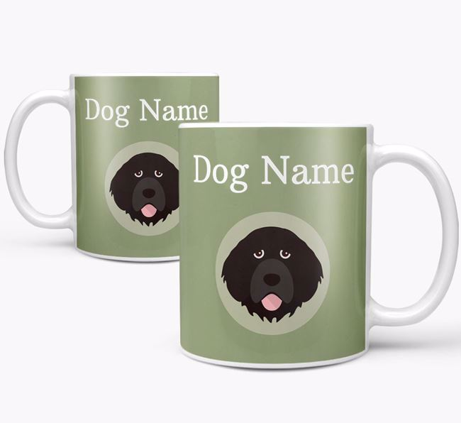 Personalised Portuguese Water Dog Mug