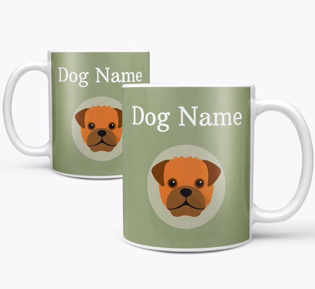 Personalised Pugapoo Mug