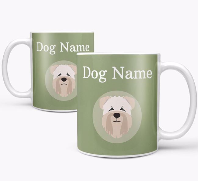 Personalised Soft Coated Wheaten Terrier Mug