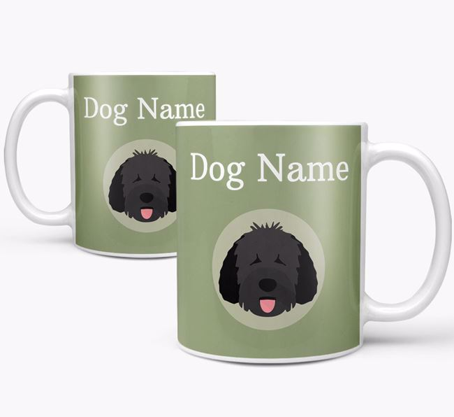 Personalised Spanish Water Dog Mug