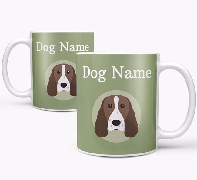Personalised Springer Spaniel Mug