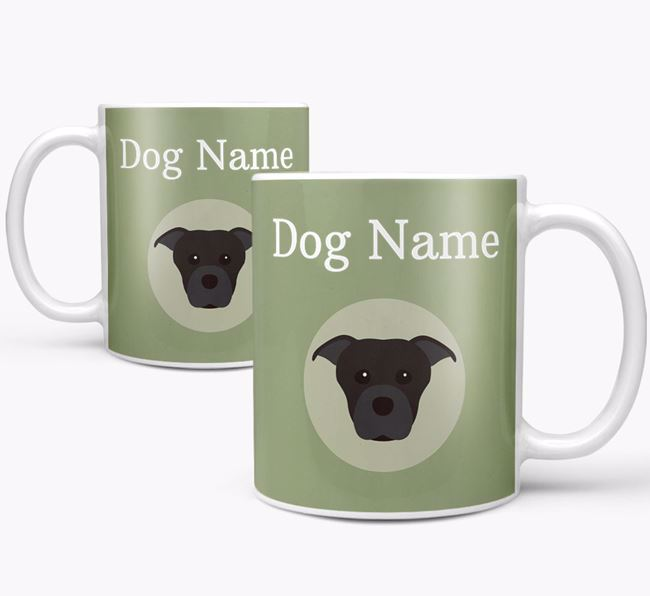 Personalised Staffordshire Bull Terrier Mug