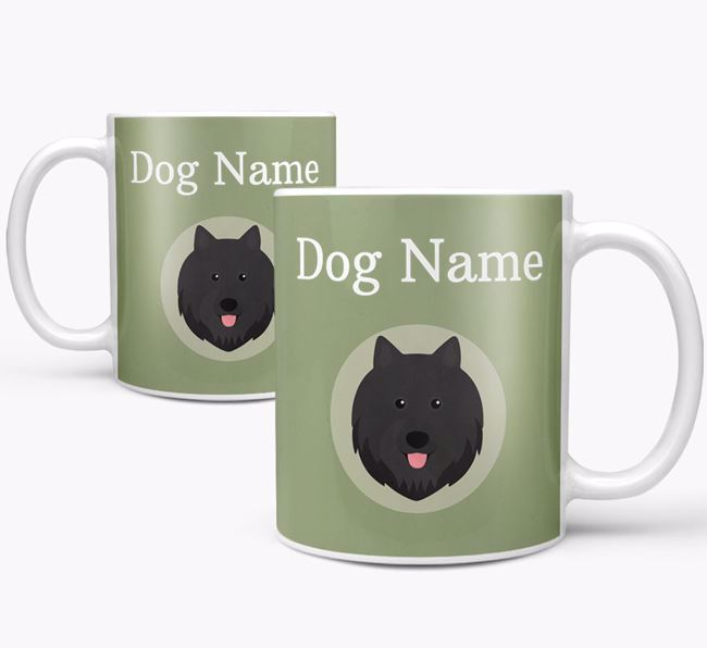 Personalised Swedish Lapphund Mug