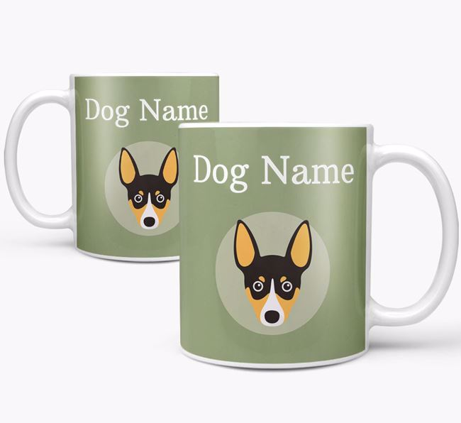 Personalised Toy Fox Terrier Mug