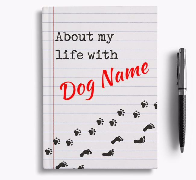 'About my life with ' Notebook