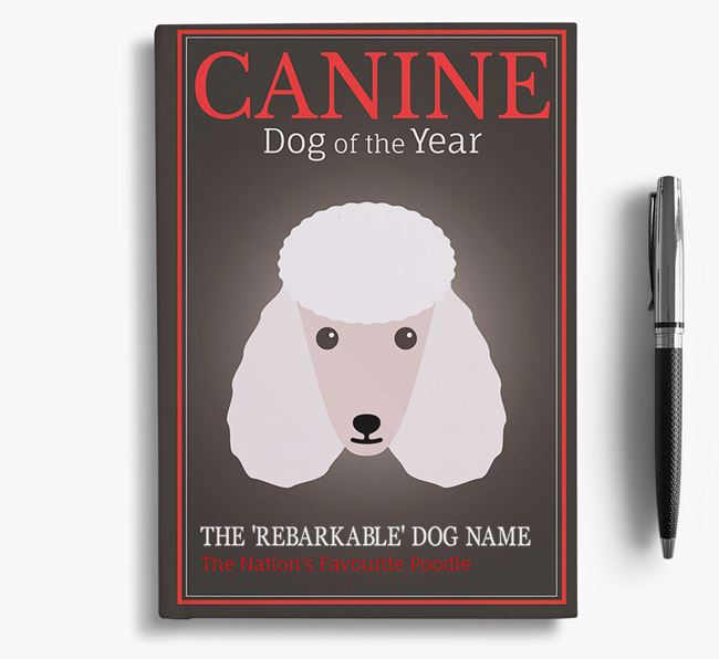 'Dog of the Year' Personalised Notebook
