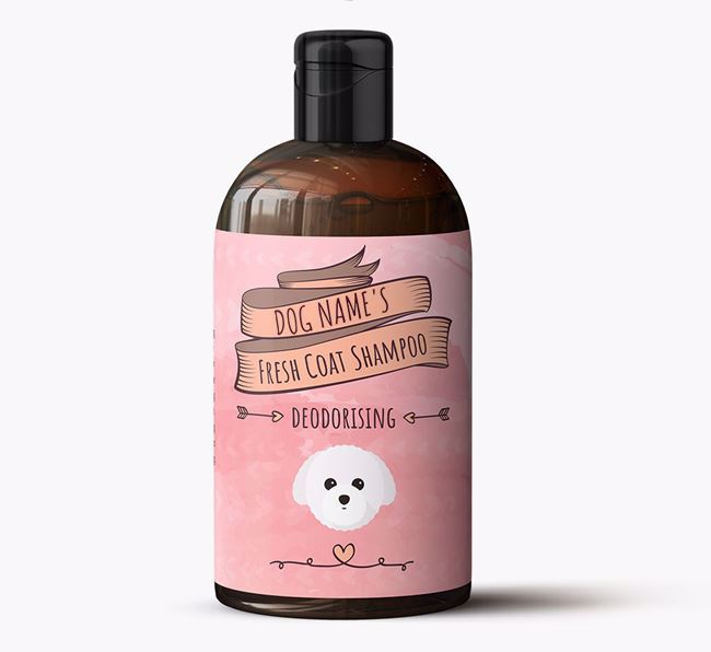 Personalised 'Fresh Coat' Shampoo for