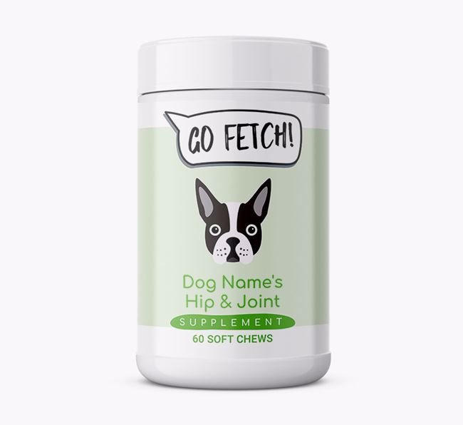'Go Fetch' Supplement for Boston Terriers