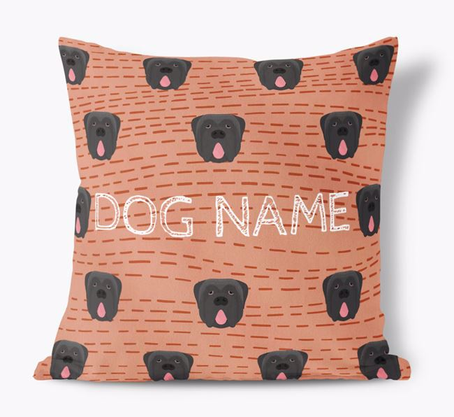 Personalised Icon Soft Touch Cushiob