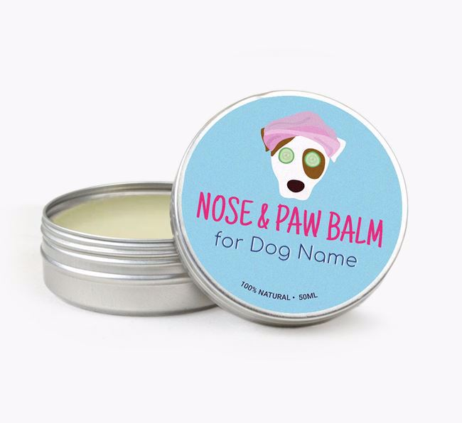 Personalised Nose & Paw Balm for your Dog