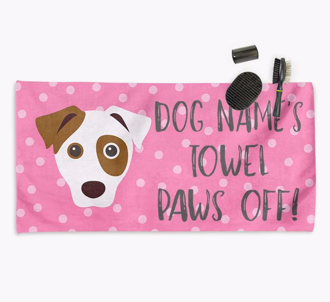 'Paws Off' Dog Towel for your Dog