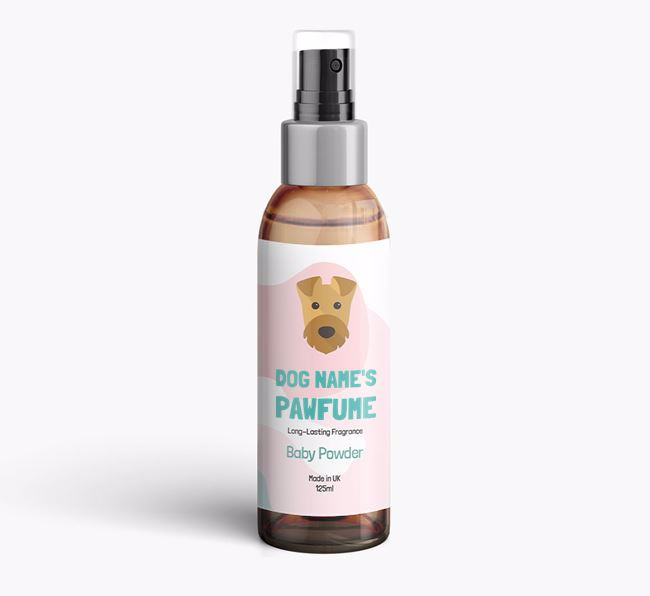 'Paw-fume' for your Airedale Terrier