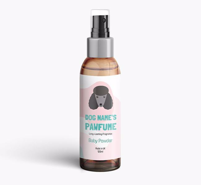 'Paw-fume' for your Poodle