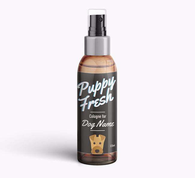 'Puppy Fresh' Fragrance for your Airedale Terrier