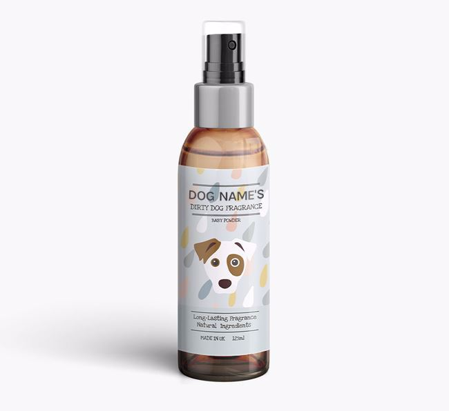 Personalised 'Dirty Dog' Fragrance for your Dog