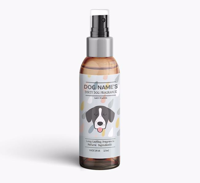 Personalised 'Dirty Dog' Fragrance for your Springador