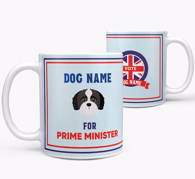 Personalised 'Prime Minister' Mug for your Jack-A-Poo