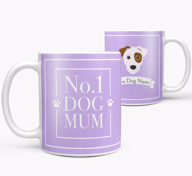 Personalised 'No.1 Mum' Mug from your Jack-A-Poo
