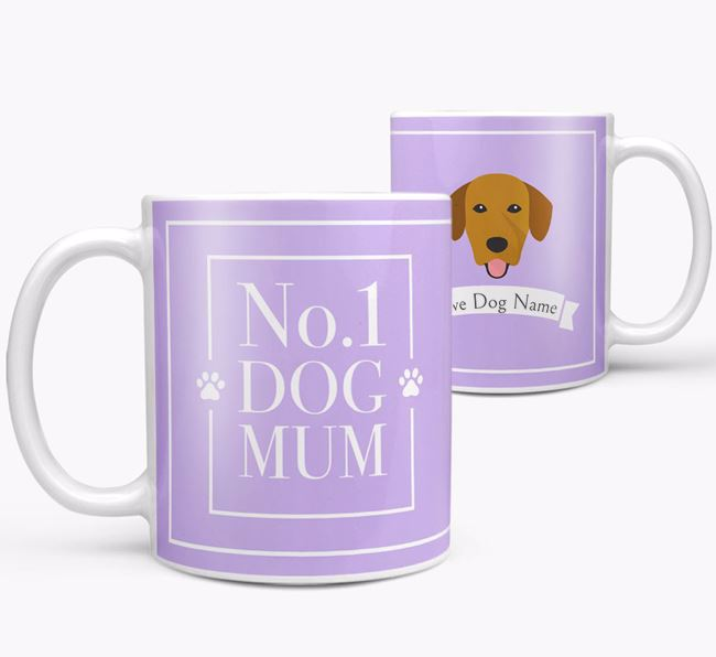 Personalised 'No.1 Mum' Mug from your Springador