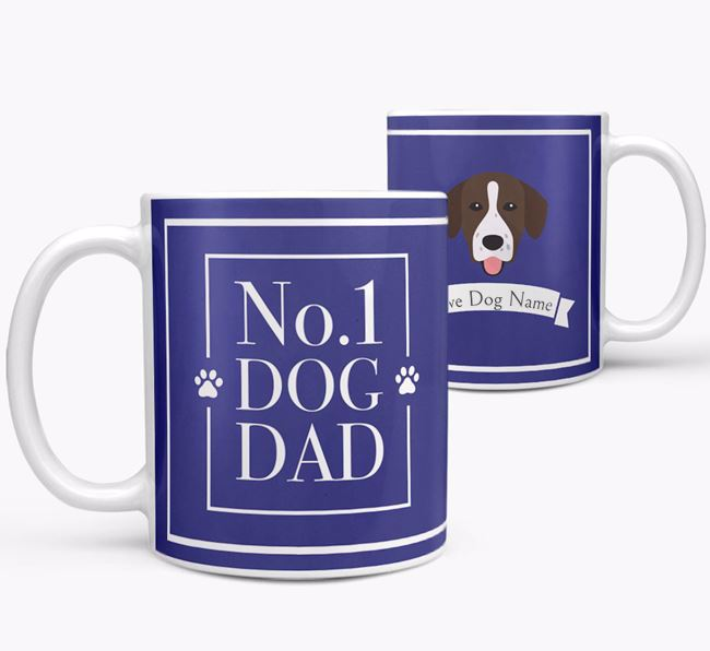 Personalised 'No.1 Dad' Mug from your Springador