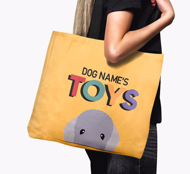 Personalised 'Toys' Canvas Bag for
