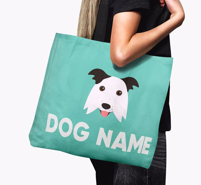 Personalised  Icon Canvas Bag