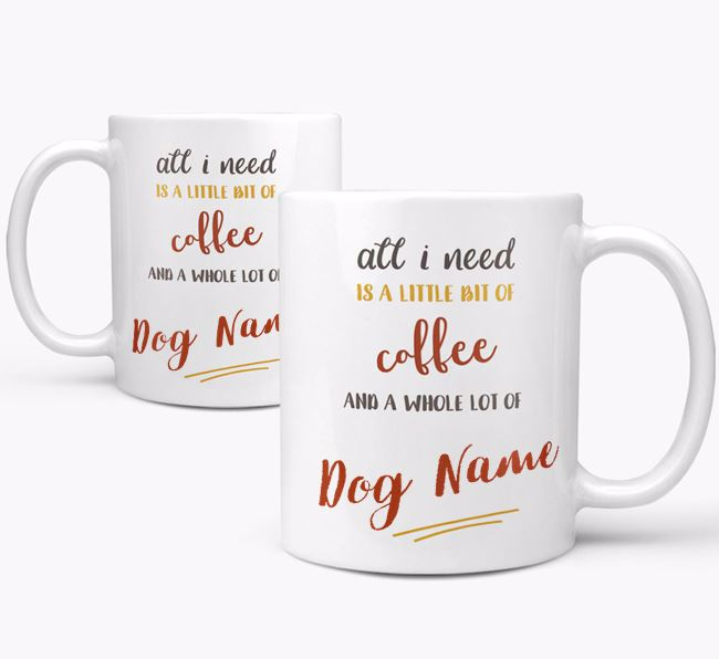 Personalised 'Whole Lot of ' Mug