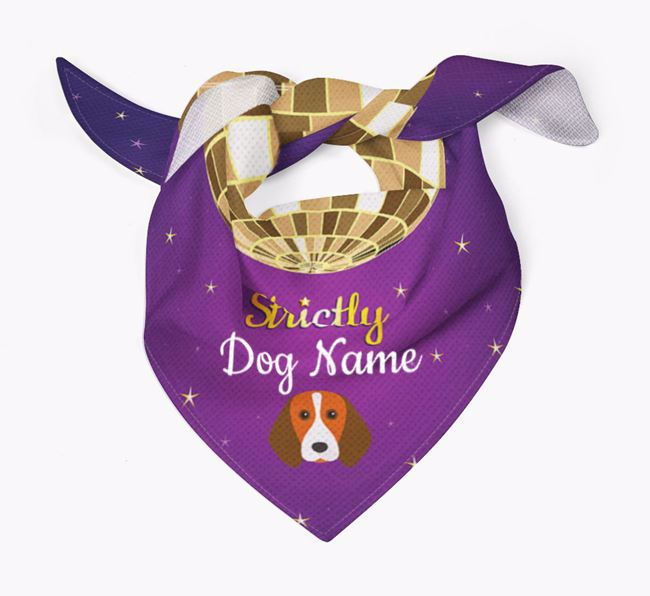 Personalised 'Strictly' Bandana for your Beagle